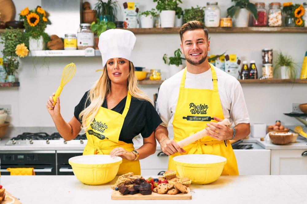 Charlotte Crosby and Chris Hughes' Slender Baking Challenge