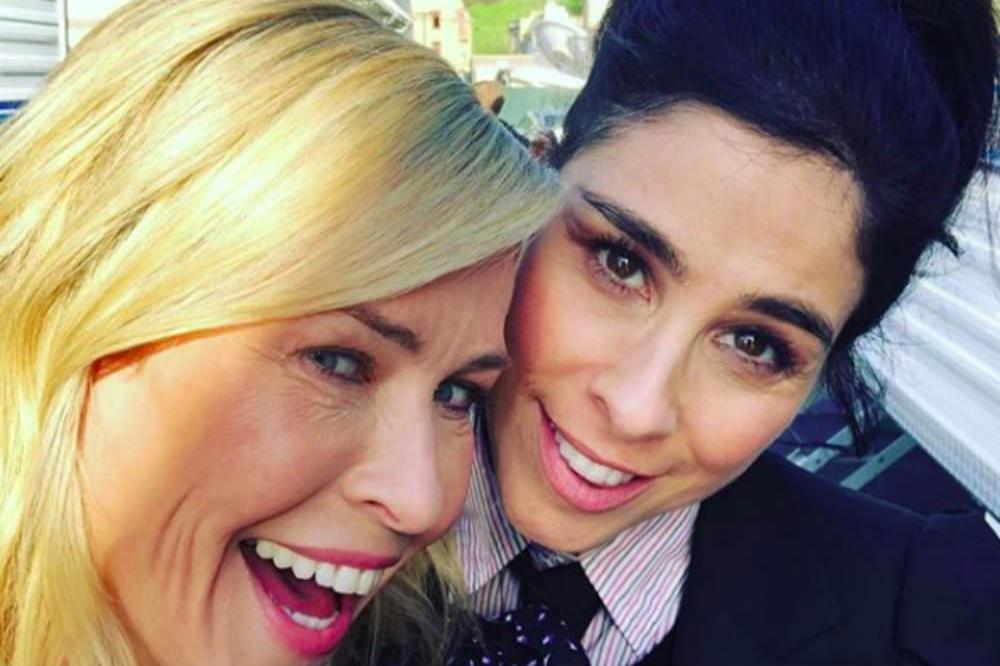 Chelsea Handler and Sarah Silverman
