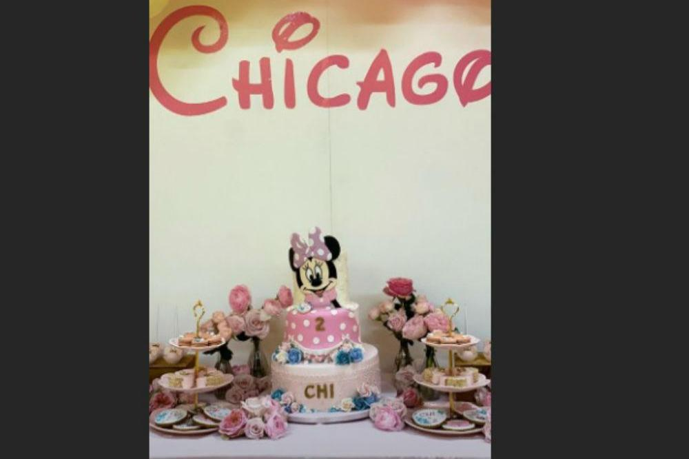Chicago West Celebrates With Minnie Mouse Party