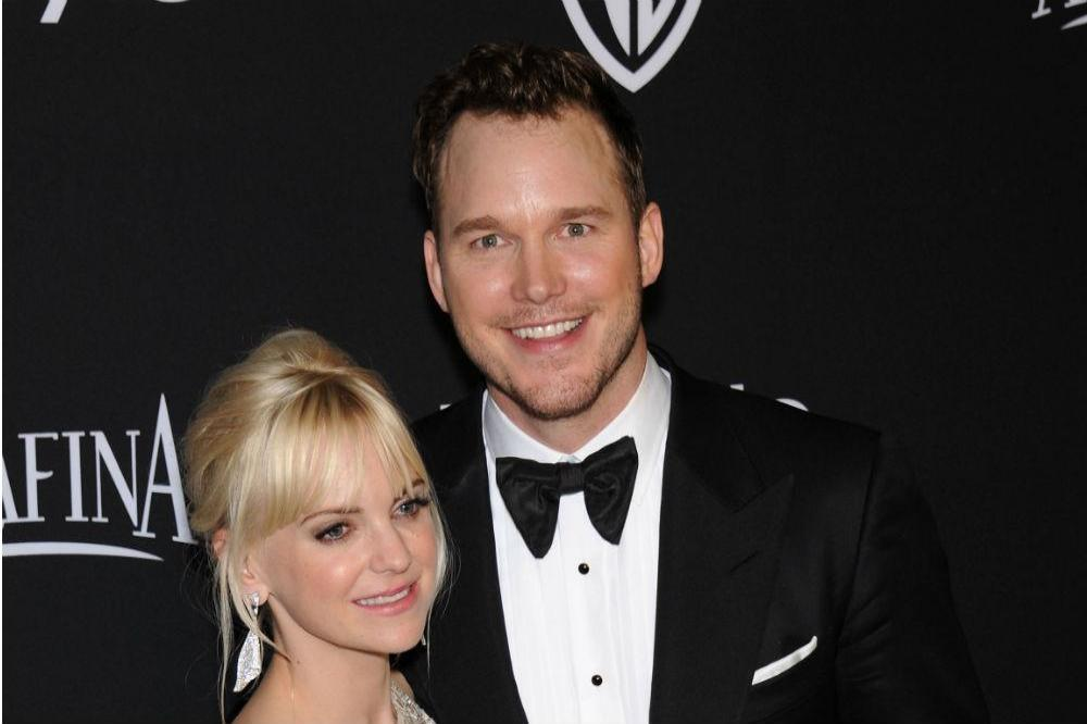 Chris Pratt And Anna Faris Given Penguin Honour