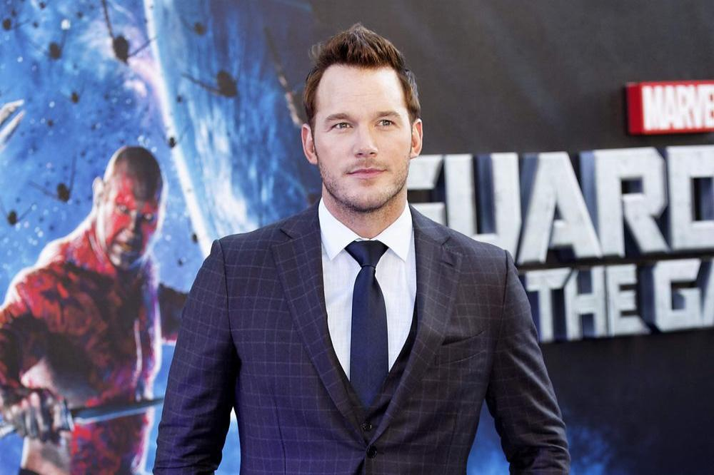 Chris Pratt at Guardians of the Galaxy premiere