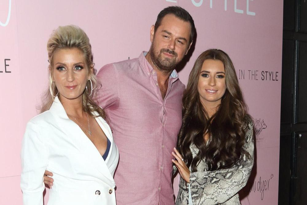 Danny Dyer, Joanne Mas and Dani Dyer