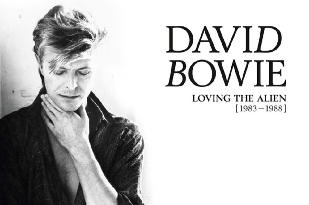 David Bowie Loving The Alien cover