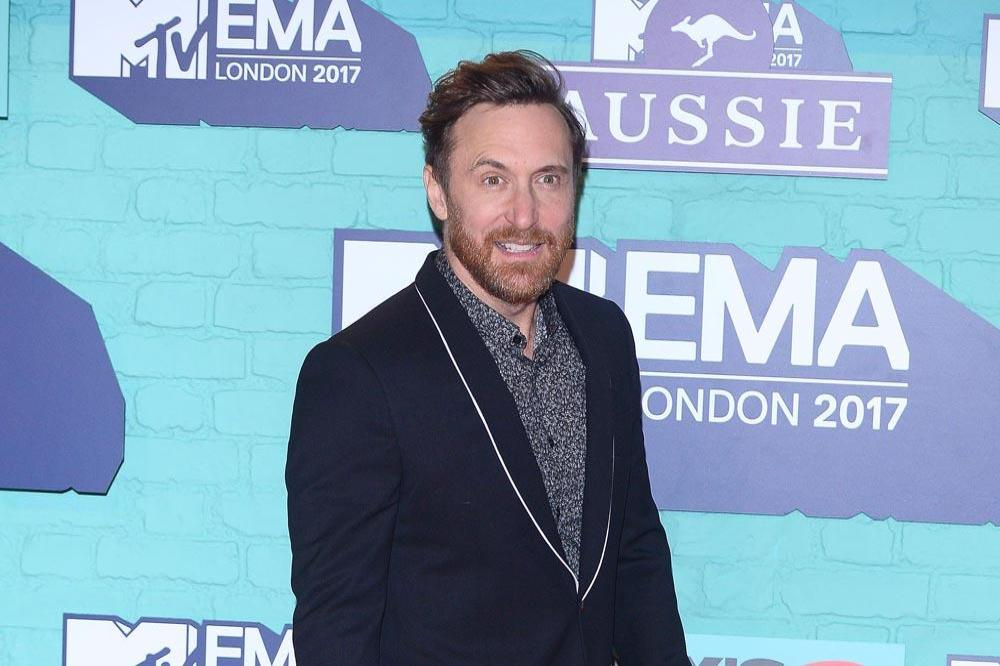 David Guetta at the 2017 MTV EMAs