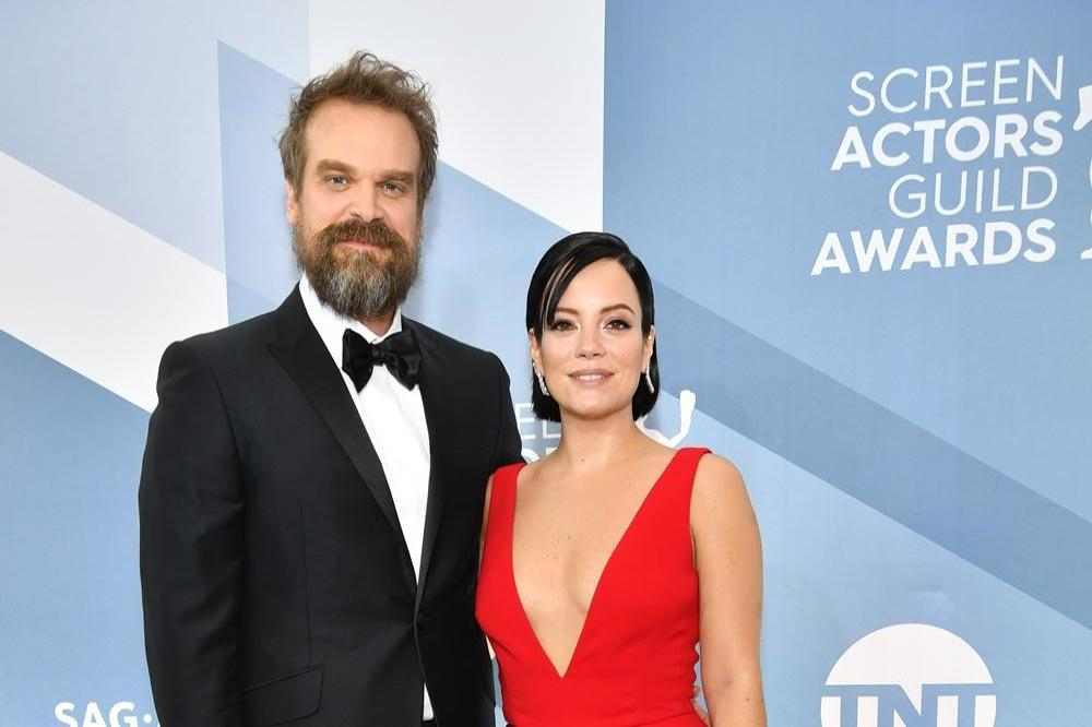 Lily Allen and David Harbour get marriage licence