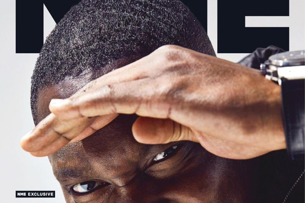 Dizzee Rascal covers NME magazine