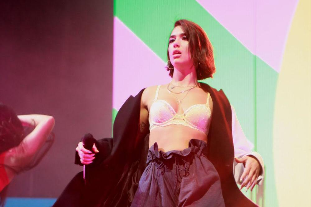 Room For  Dua Lipa In Show