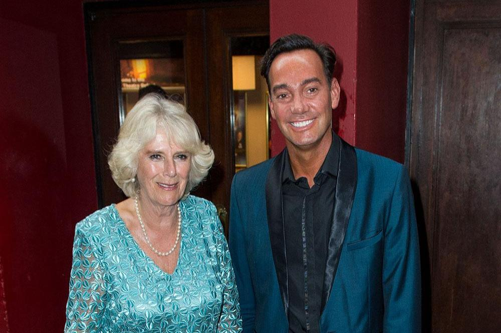 Duchess Camilla and Craig Revel Horwood