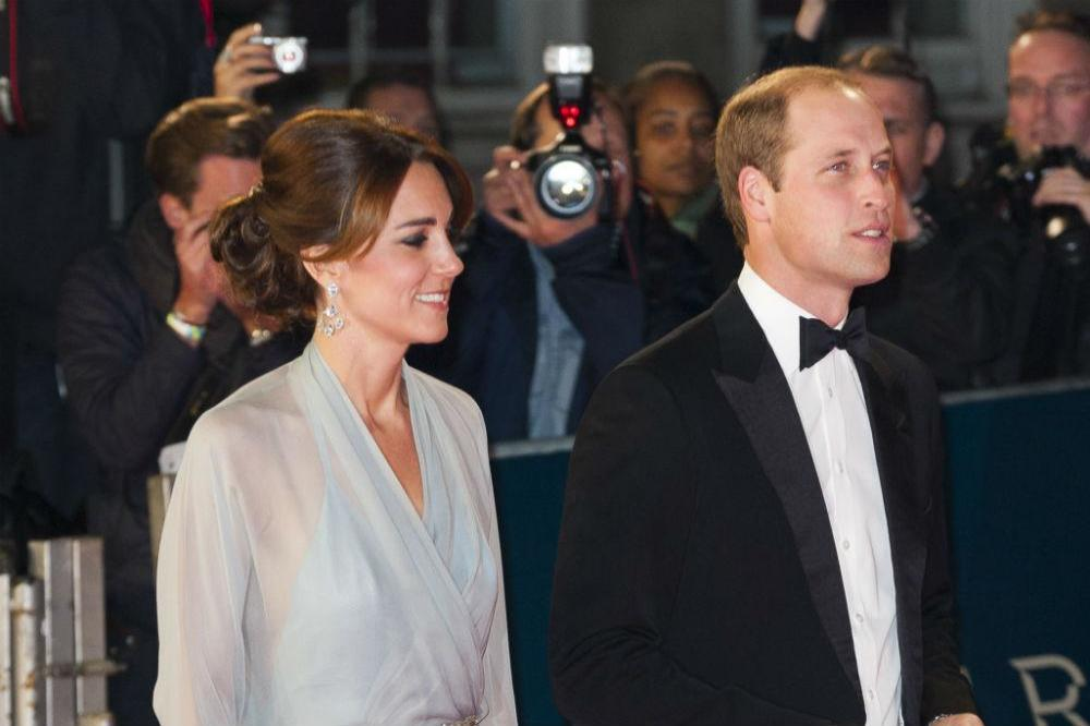 Britain\'s Duke And Duchess of Cambridge\'s Matching Dressing Gowns