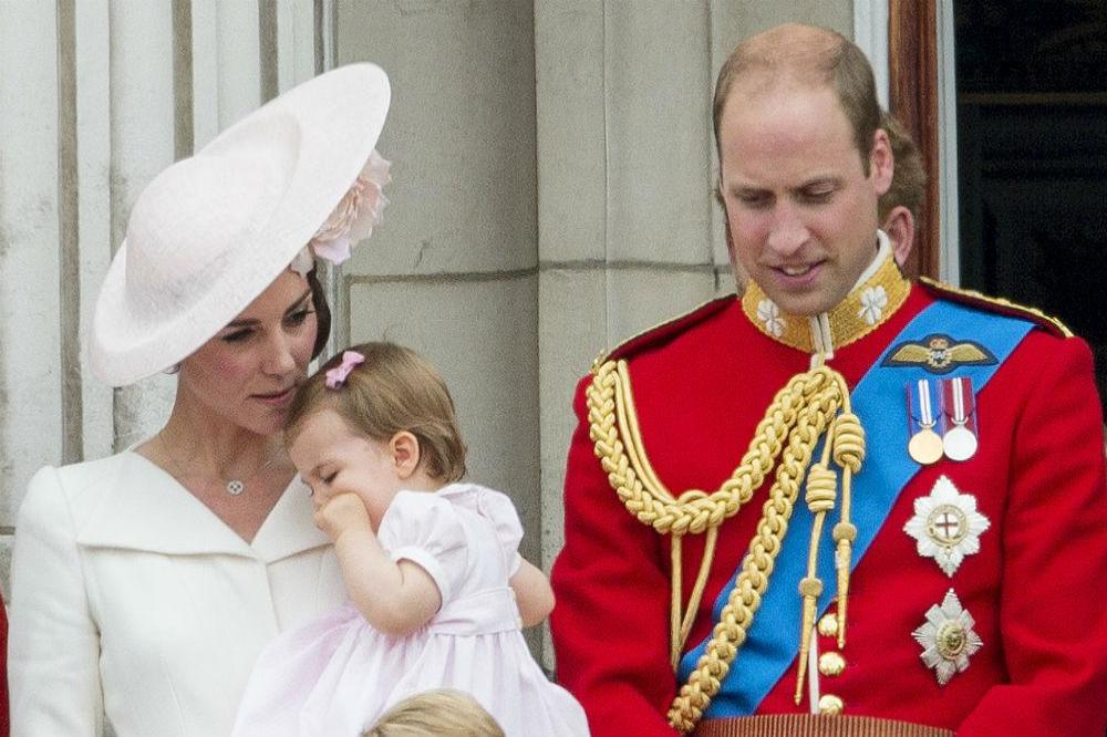 Duchess Catherine, Prince William and their children