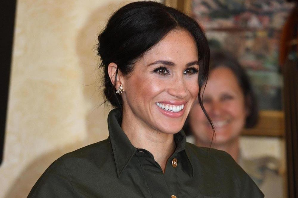 Duchess of Sussex in Diana's earrings