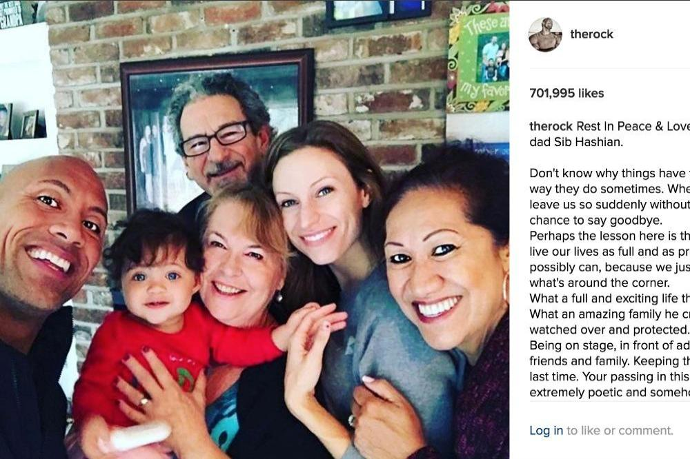 Dwayne Johnson S Second Father Has Died