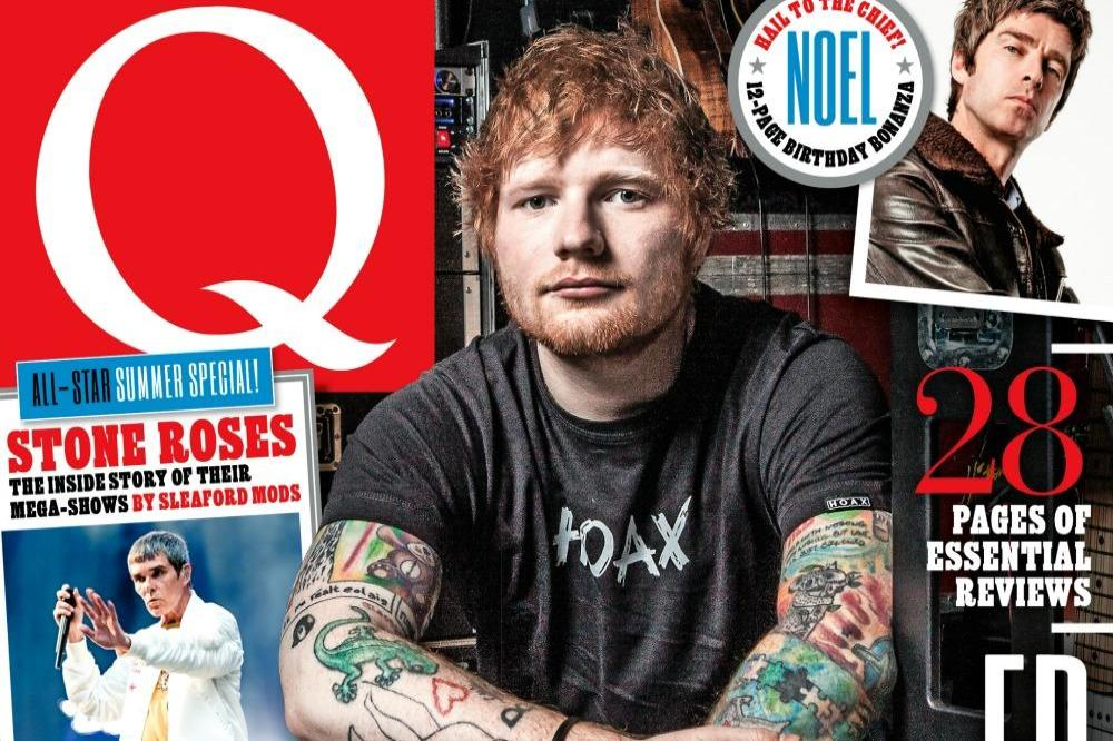 Ed Sheeran for Q magazine