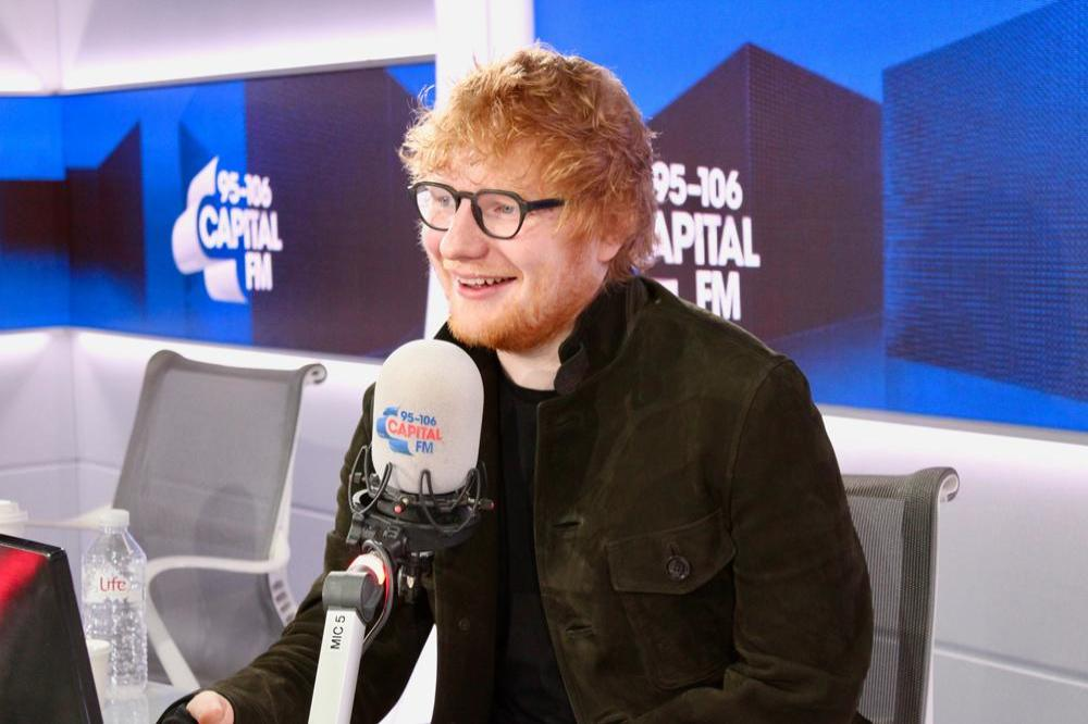 Ed Sheeran completes Capital Jingle Bell Ball line-up