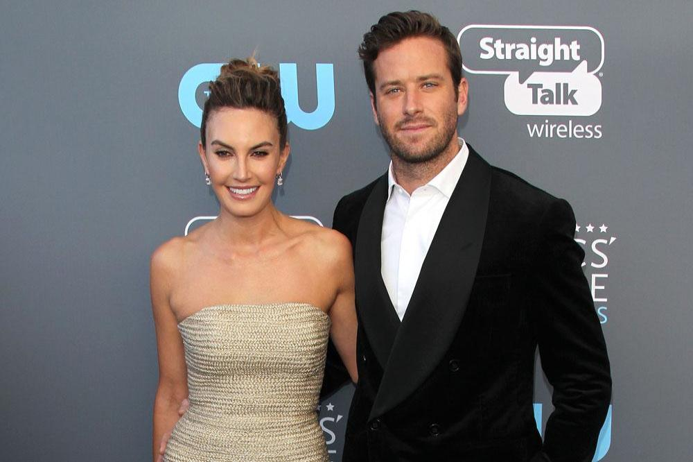 Armie Hammer not on a date at awards show