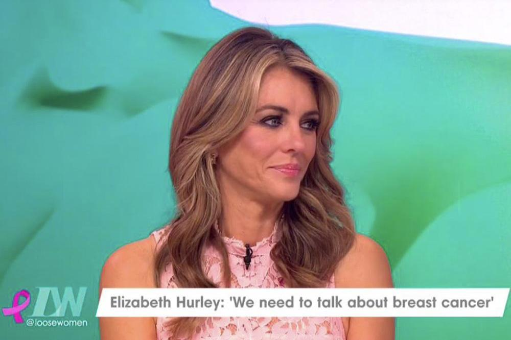 Elizabeth Hurley on Loose Women