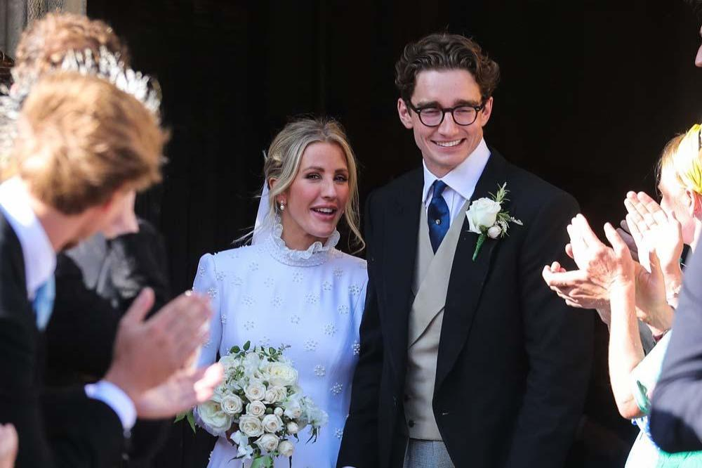Ellie Goulding marries boyfriend Caspar Jopling""