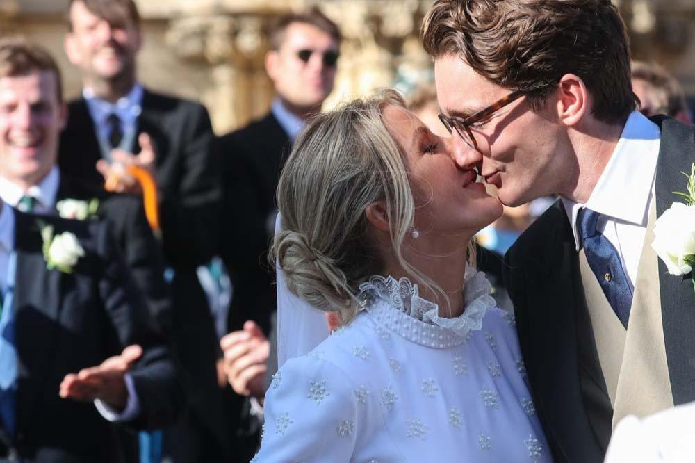 Ellie Goulding's husband posts intimate snaps of their wedding day