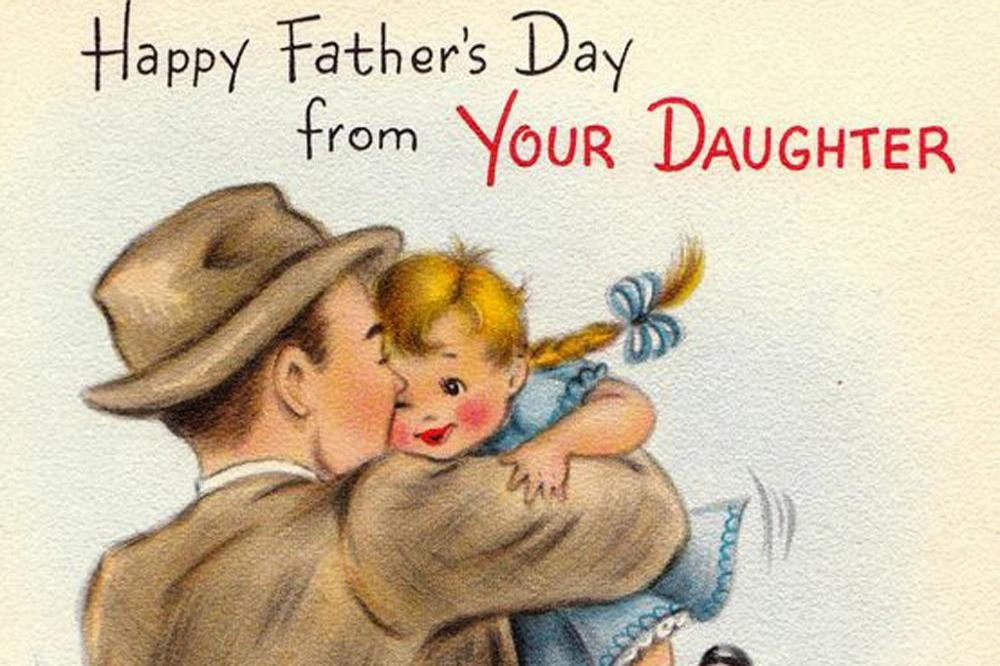 Father's Day cards show shift in dads role in modern home