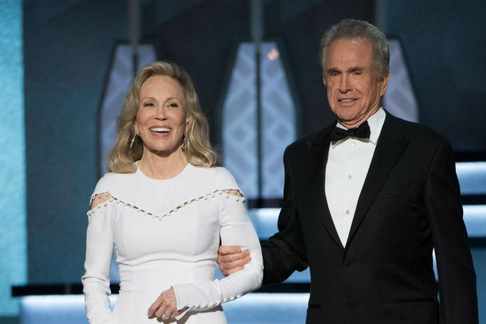 Warren Beatty and Faye Dunaway