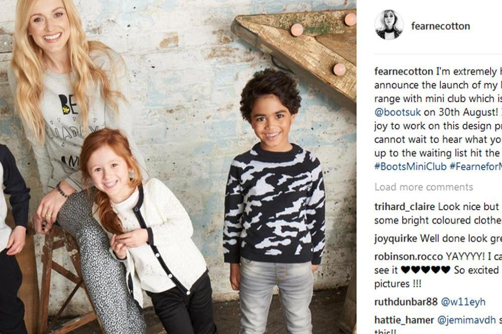 Fearne Cotton Will Launch A Children 39 S Clothing Range This