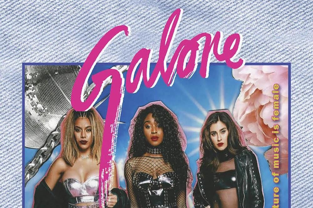 Fifth Harmony on the cover of Galore magazine