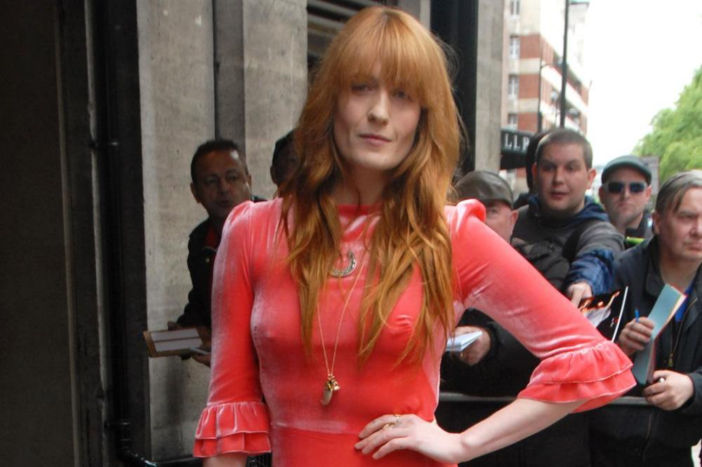 Florence Welch at the Ivor Novellos