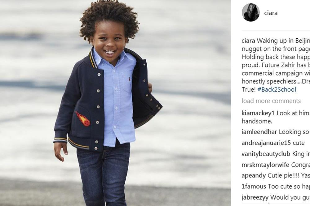 Ciaras Son Future Zahir Wilburn: Ciara's Son Makes His Modelling Debut