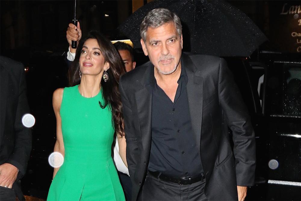 George Clooney \'Wears the Pants\' in Marriage