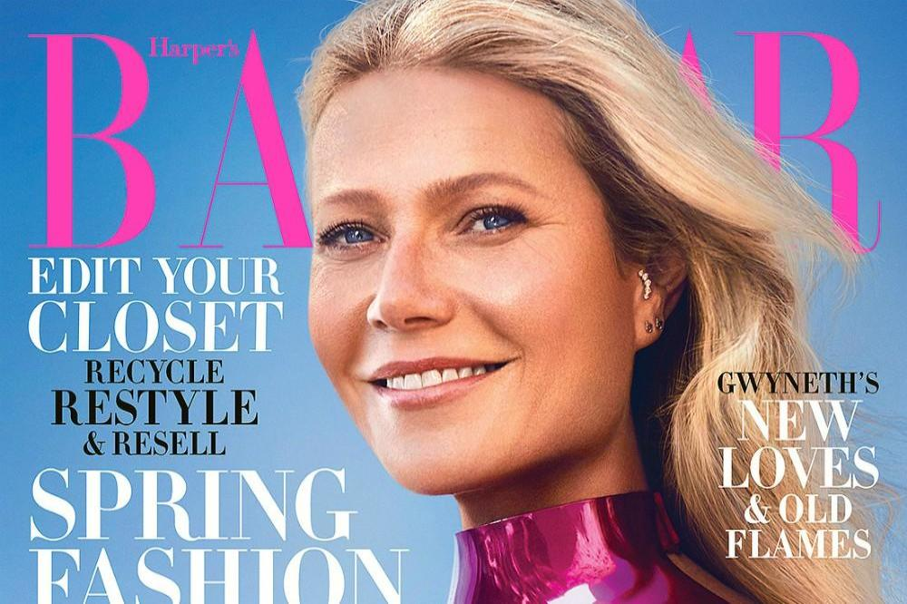 Gwyneth Paltrow on the cover of Harper's Bazaar