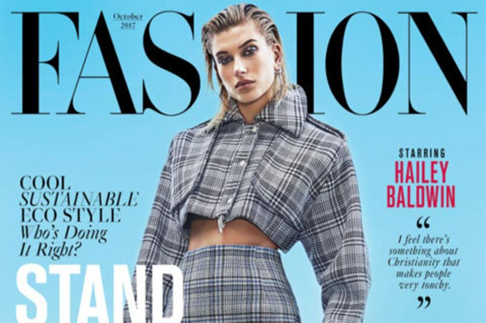 Hailey Baldwin for Fashion magazine