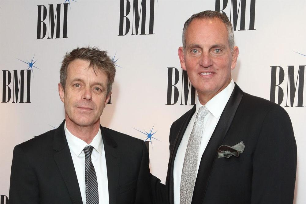 Harry Gregson-Williams with his BMI Award
