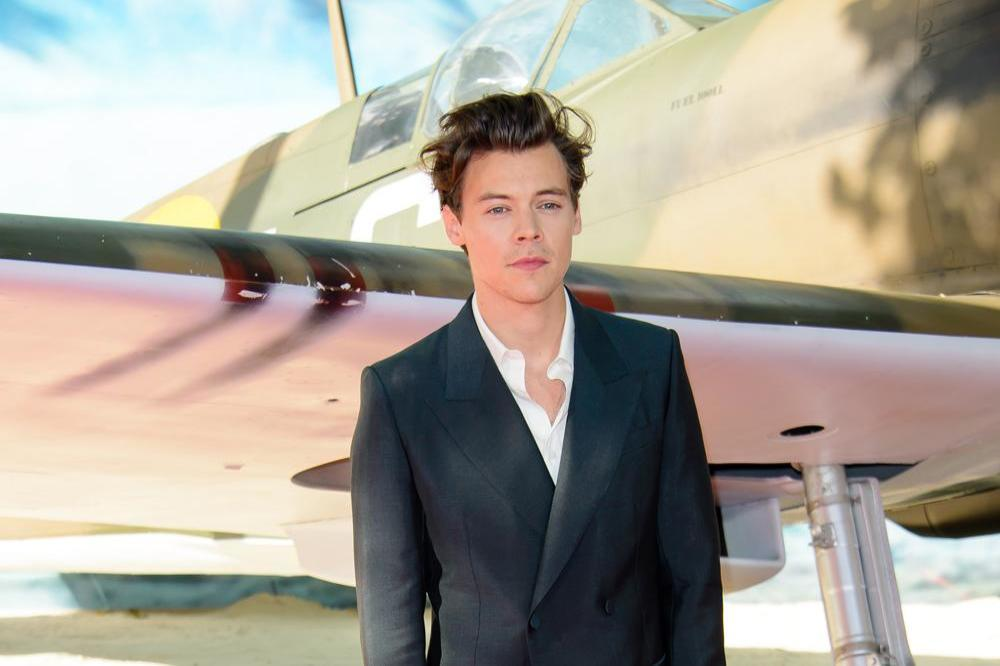 Harry Styles at the 'Dunkirk' London premiere
