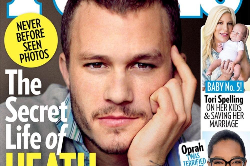Heath Ledger's People magazine cover