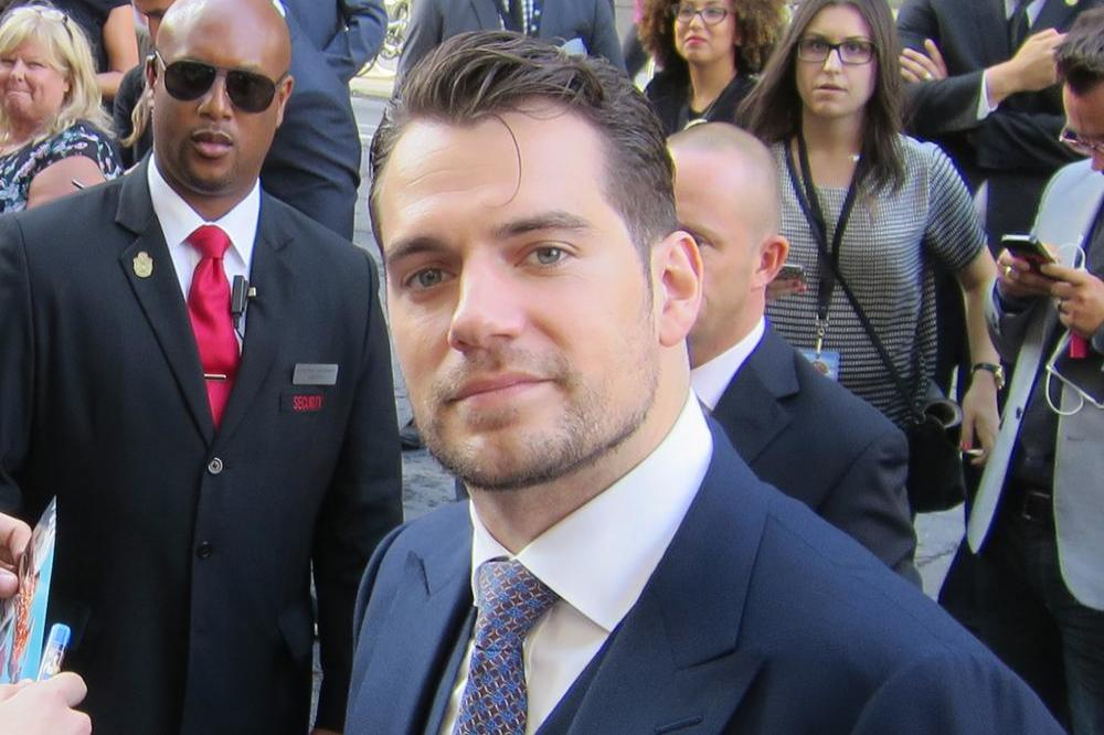Henry Cavill at The Man From U.N.C.L.E. Canadian premiere
