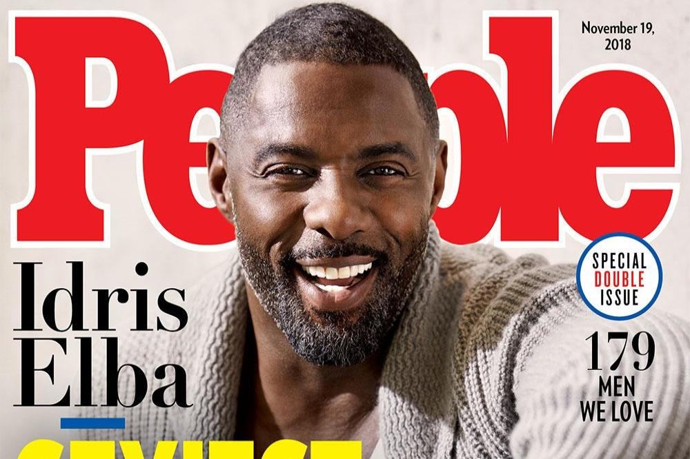 Idris Elba for People magazine