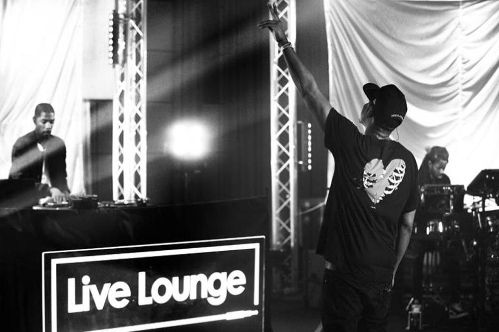 Jay-Z in the Live Lounge