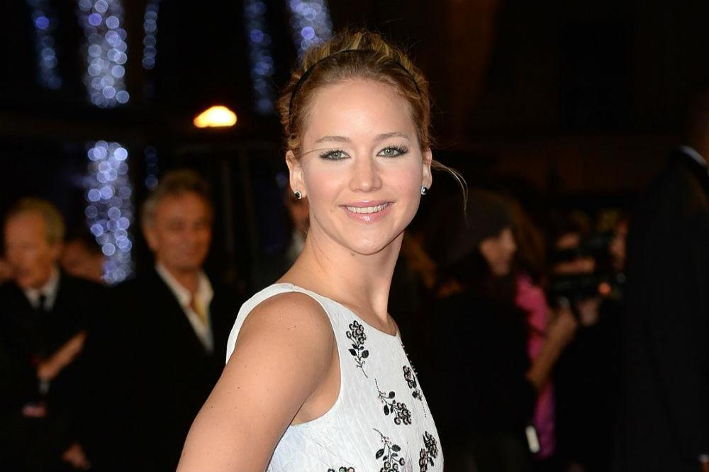 Jennifer Lawrence at the 'Hunger Games: Mockingjay - Part 1' premiere in London