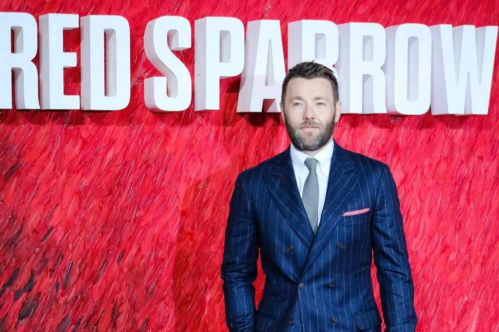 Joel Edgerton at Red Sparrow premiere