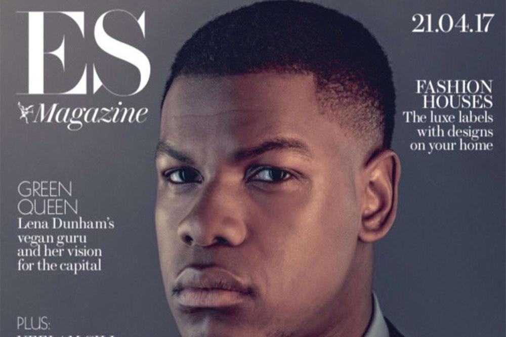 John Boyega on ES Magazine cover