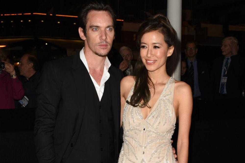 Jonathan Rhys Meyers and Mara Lane