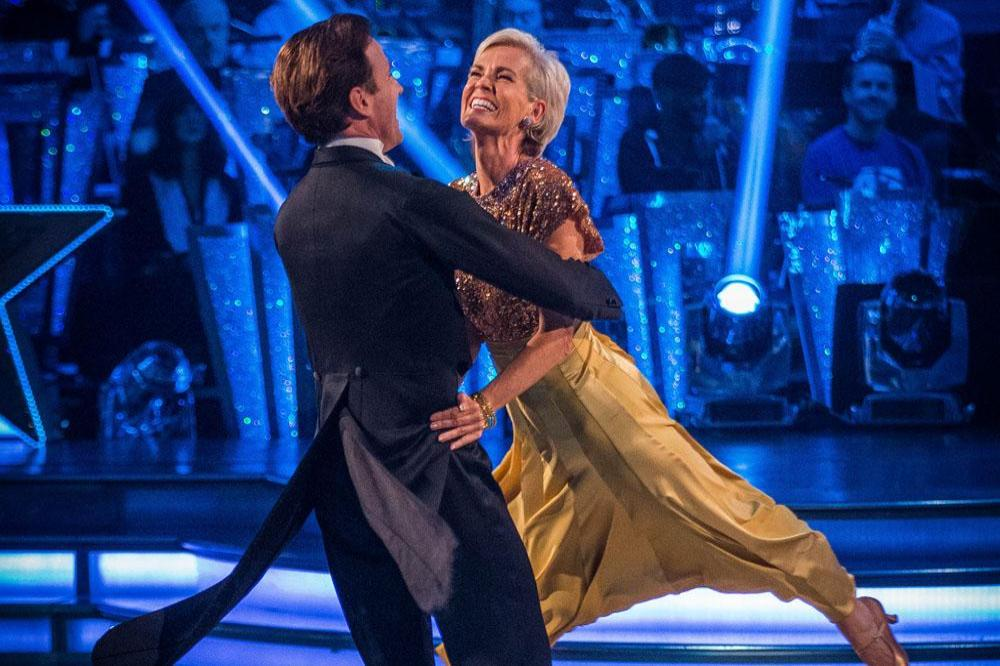 Judy Murray and Anton Du Beke