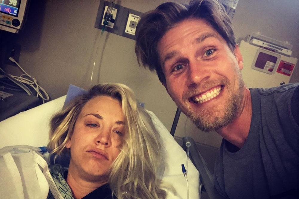 Kaley Cuoco and Karl Cook (c) Instagram