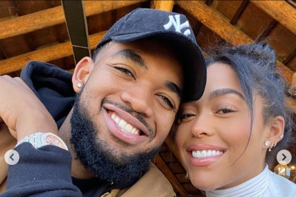 Karl-Anthony Towns and Jordyn Woods (c) Instagram
