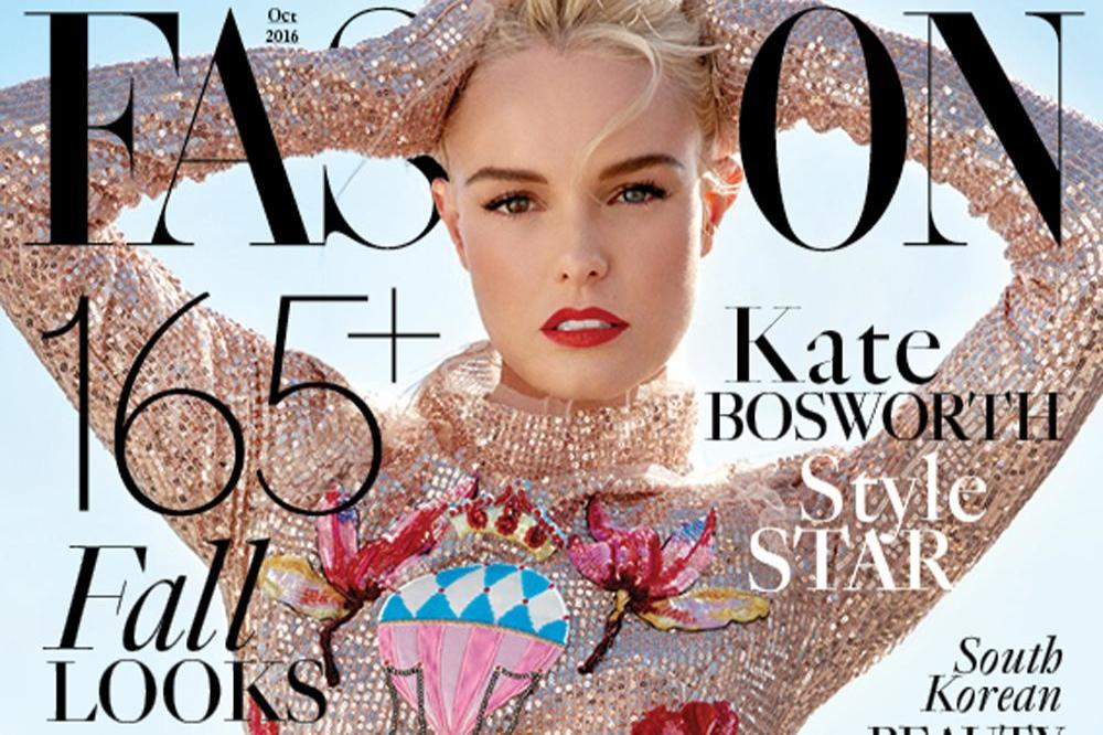 Kate Bosworth on FASHION Magazine
