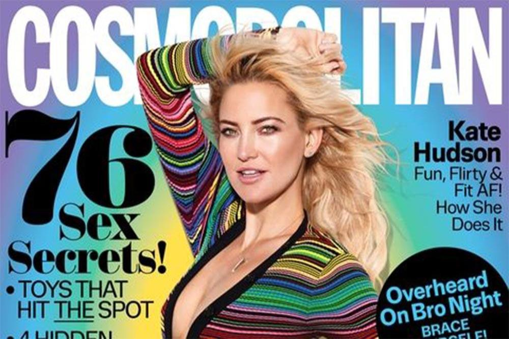Kate Hudson for Cosmopolitan magazine