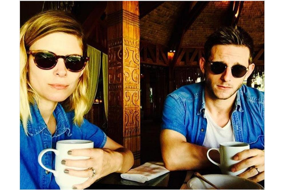 Kate Mara and Jamie Bell (c) Instagram