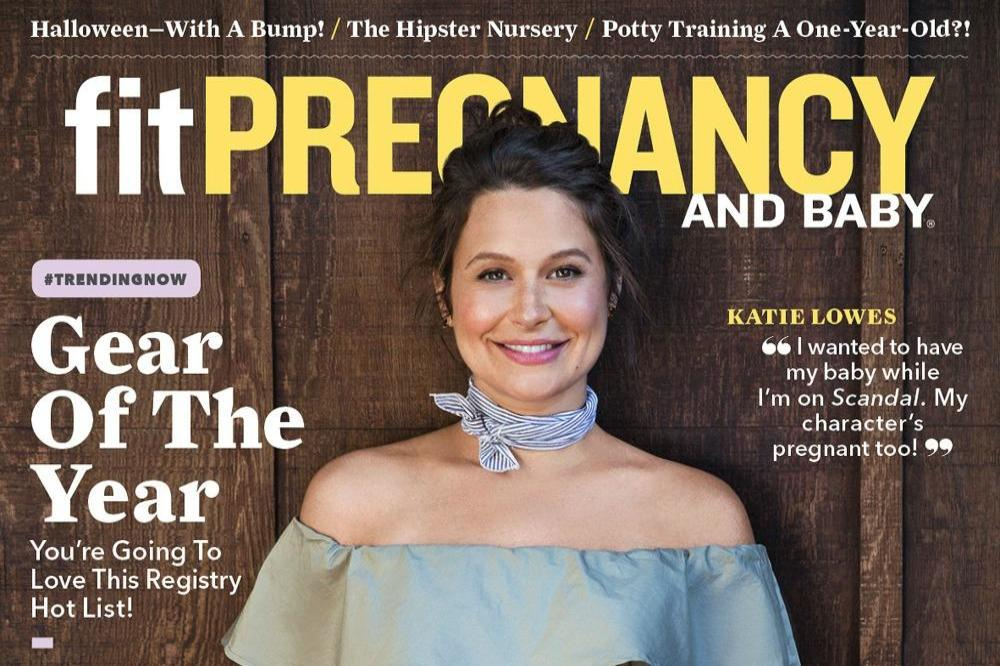 Katie Lowes for Fit Pregnancy and Baby (c)