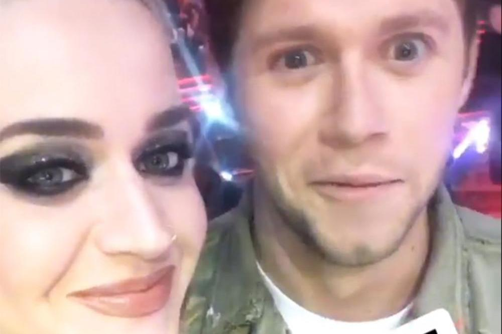 Katy Perry and Niall Horan (c) Instagram