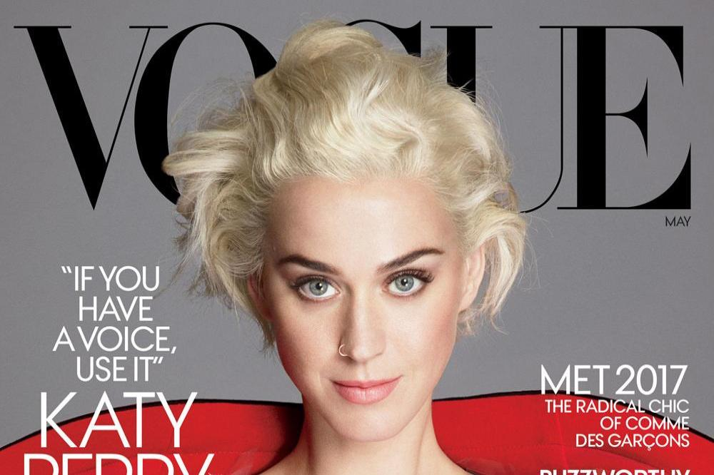 Katy Perry for Vogue magazine